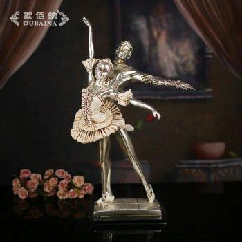 欧式芭蕾舞美女摆件