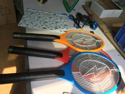Factory direct selling hot charging electric mosquito swatter