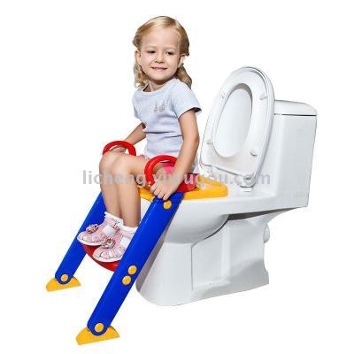 Children's toilet baby toilet seat baby folding toilet