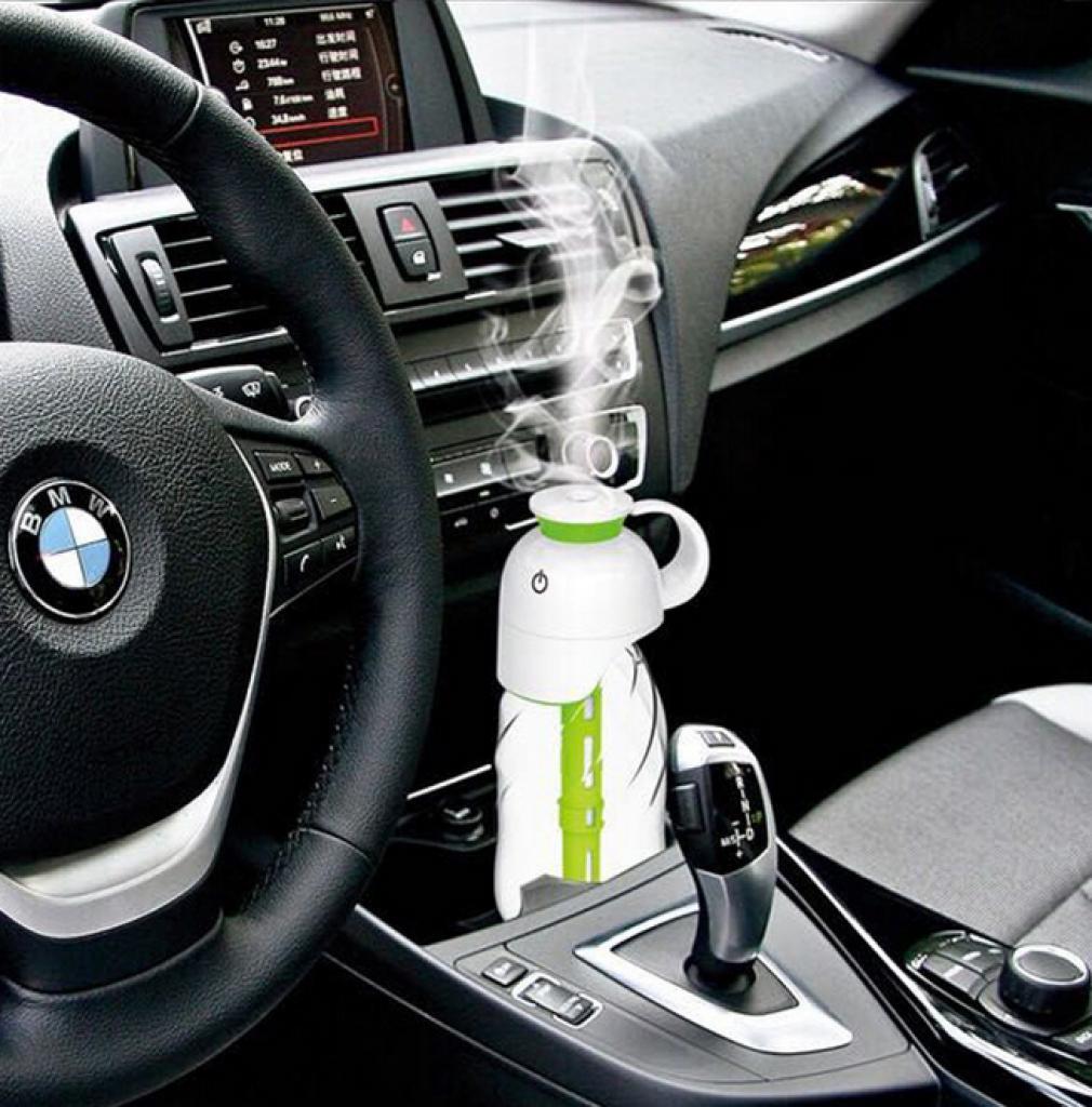 汽车空气雾化 净化器车载超声波加湿香薰机图片