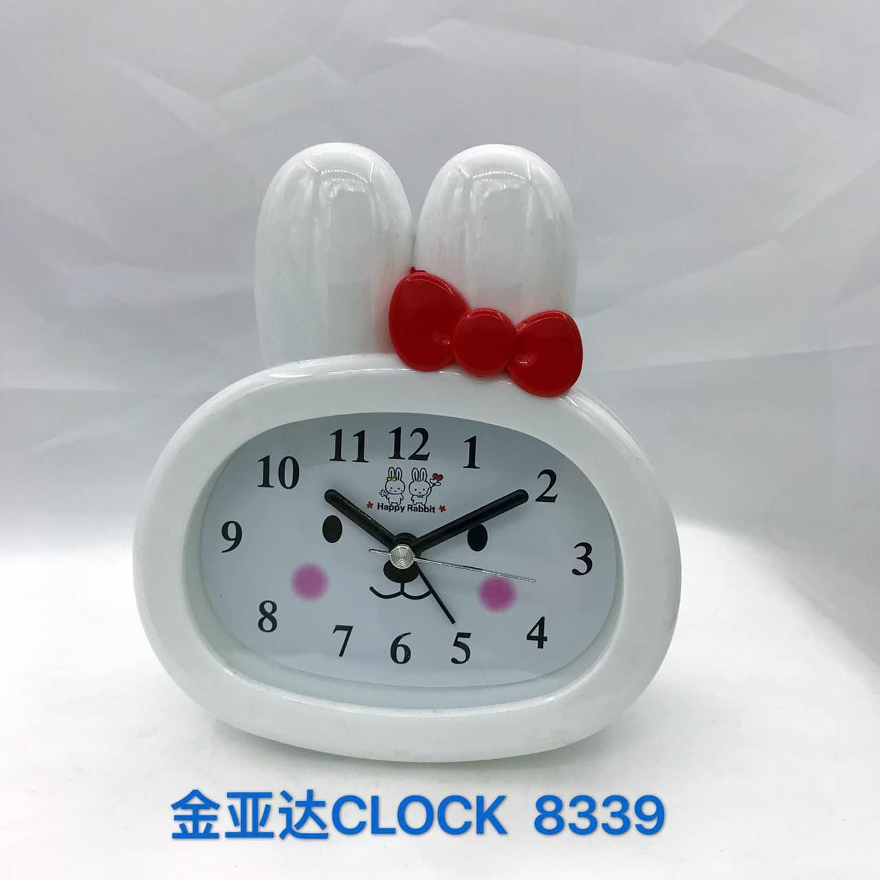 小闹钟 卡通钟 闹钟 钟表 学生钟 小动物钟