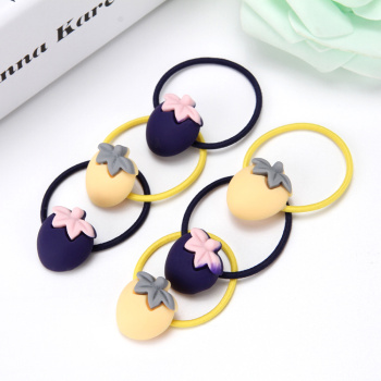 Children's hair headdress to Japan and South Korea not to hurt the baby s Tousheng girls hair rope multicolor variety