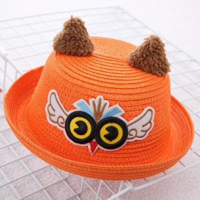 猫头鹰帽子儿童可爱帽子