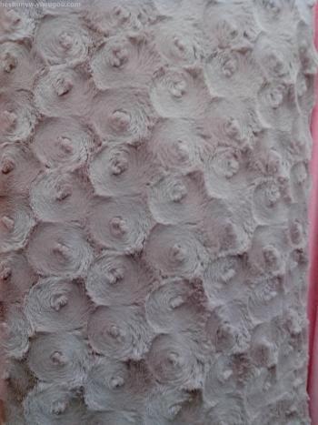South Korea velvet large grinding ring fabric scarf quilt