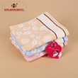 Leaf pattern multicolored adult gauze towel towel towel towel face towel