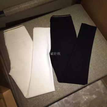 The spring of 2017 a thin black pants pants pants slim pants Rome black pencil pencil all-match Stretch Leggings