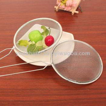 One dollar store wire mesh leakage filter net leakage fishing goldfish net E153