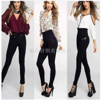 Europe and the United States TV explosion high waisted Leggingsblack lady Leggings