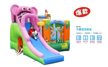 Children's toys inflatable castle outdoor trampoline water amusement toy elephant joy jump bed