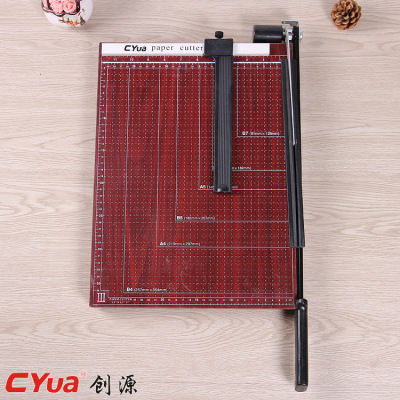 Wood b4 cutting paper knife manual cutting paper cutter.