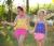 Small goldfish sunmaid children swimsuit new wave packet split skirt swimsuit manufacturers selling children
