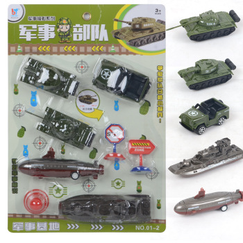 Military forces pull back car kit scene simulation toys educational toy stall selling educational toys wholesale