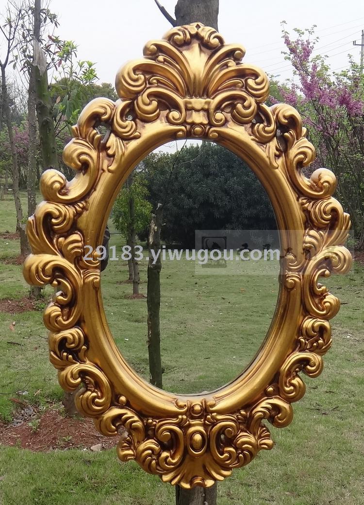 复古欧式挂镜 高档浴室镜 酒店别墅装饰镜 ktv娱乐场所镜子