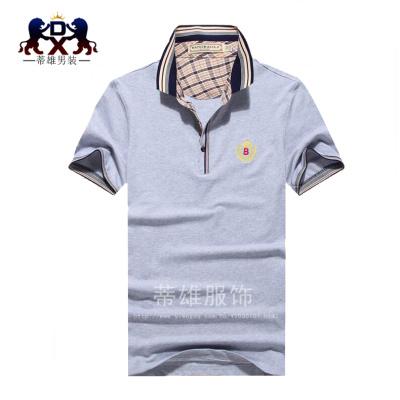 Tichon Mens New Summer t-shirt men's shirt short sleeved T