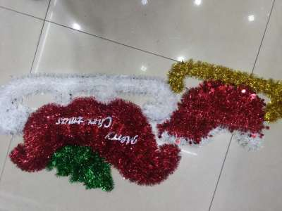 Manufacturers selling Christmas ornaments Decor sled hot products