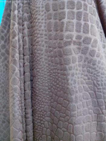 Crystal ultra soft pressure crocodile pattern (factory direct) toys home textiles clothing