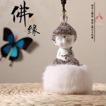 GS040 ceramic Buddha hair ornaments such as drill car accessories