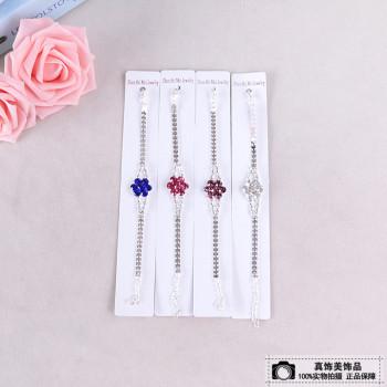 Exquisite plum blossom bracelet bracelet cute lobster buckle chain buckle bracelet stall fashion