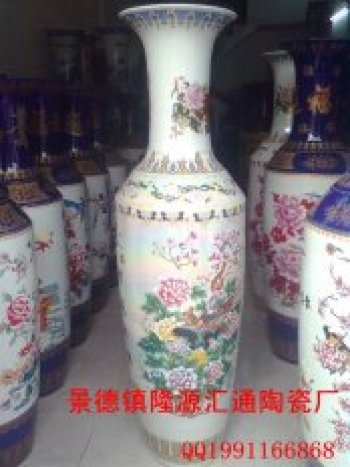 Jingdezhen vases landing vase ornaments ornaments home jewelry crafts