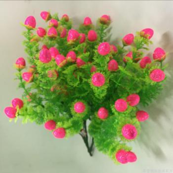 The Christmas festival decoration supplies fruit color fruit flower flowers artificial flower simulation factory direct
