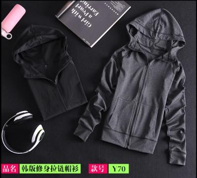 Women's Yoga sport coat goddess workout clothes morning jogging wear long sleeved jacket Zip Hoody fast dry sportswear