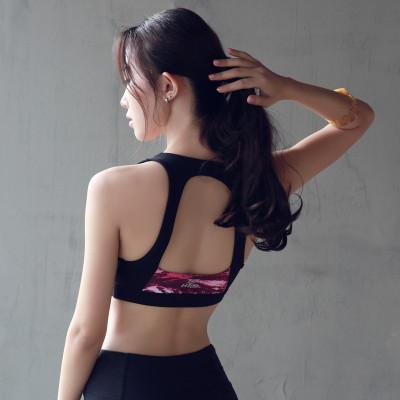 Women's Training Sports Bras Fitness Yoga Push Up Padded Top Seamless Bras