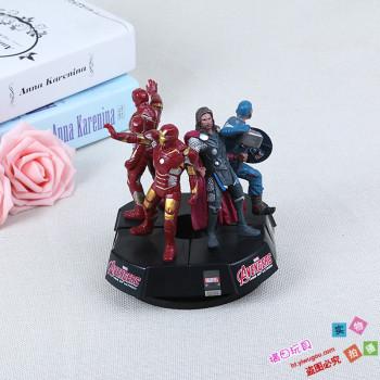 Doll doll toys toy model Avengers iron man, Captain America