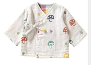 Six layers of gauze baby clothes baby clothes