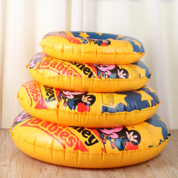 Thickening swimming ring adult inflatable life buoy children learning swimming equipment