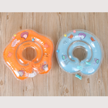Inflatable collar newborn baby swim ring collar
