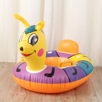 Inflatable inflatable swimming ring PVC thickening Inflatable Animal cushion for children