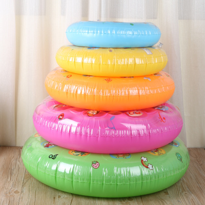 Children's inflatable toys crystal swim ring PVC adult children's double swimming pool