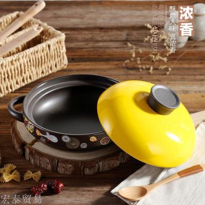 Korean version of the stone bibimbap for the special pot pot clay pots casserole stone pot fish casserole pot pot