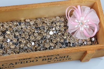 Clothing accessories copper claw chain accessories wedding decoration Rhinestone Buckle