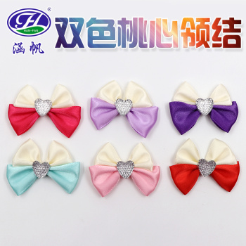 Tie with a smooth bow tie ribbon ribbon bow tie fabric accessories accessories