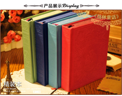 New Korea stationery notebook cover relief colorful notebook manufacturers customized wholesale