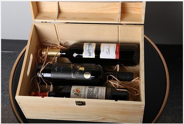 全球精选 法国 西班牙 智利红酒 木箱6瓶
