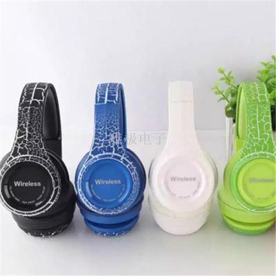 Hot - selling crack head wear bluetooth headset fashion high quality plug - in.