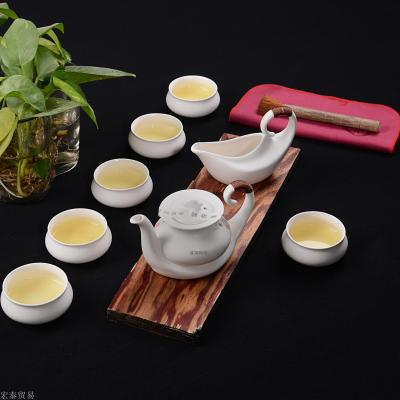 Set kiln Goda candle sets of kung fu suits creative ceramic gifts tea sets