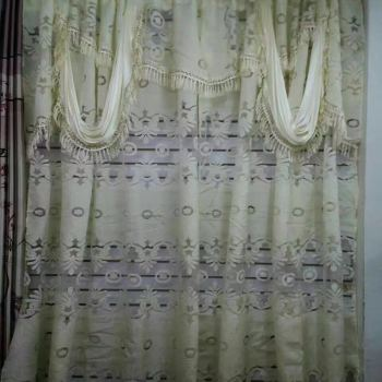 African Curtains Bounans Americas Southeast Asia Calico jacquard fabric curtain fabric embroidered double windows