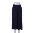 Dark blue knee skirt 17 spring new factory direct sales