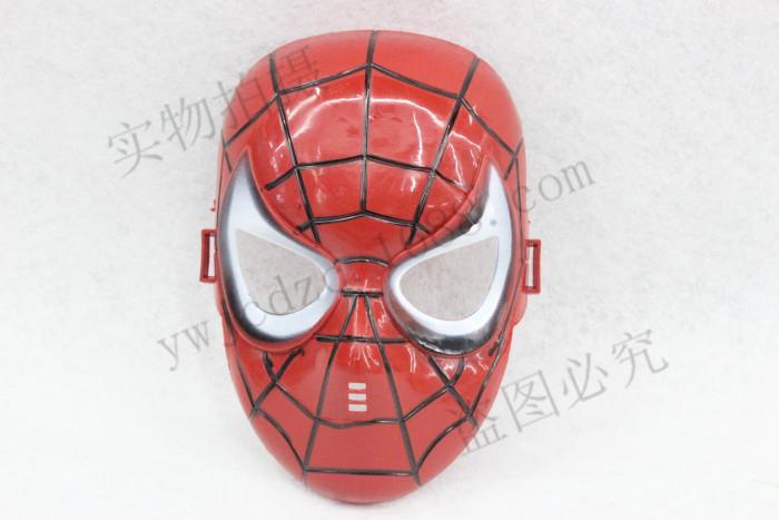 儿童万圣节卡通动漫面具 美国队长 钢铁侠 蝙蝠侠