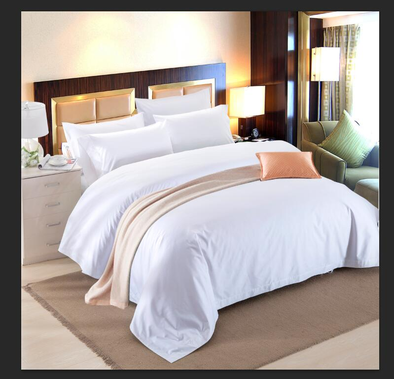Supply Hotel Cloth Grass Hotel White Bed Sheet Manufacturer Wholesale Five  Star Hotel
