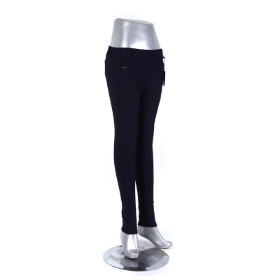 High waist was thin fashion trousers pencil pants pants thin section