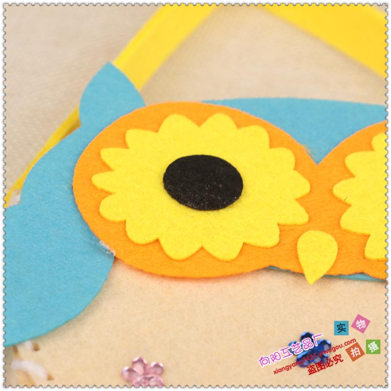 儿童幼儿园手工制作材料无纺布不织布diy包包