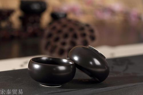 Factory direct export Dehua ceramic tea tiger whisper Bai Ding kiln Qiao Yun single tea cup wholesale