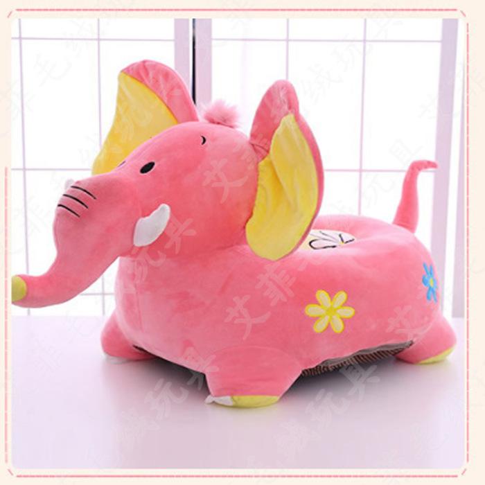 毛绒玩具动物座椅大象沙发儿童卡通沙发子母款榻榻米