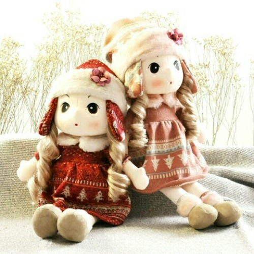 Little girl dolls genuine snow clouds Phillips dolls plush toys dolls 61 children