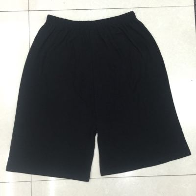 Men's cotton pants pajamas summer shorts pants casual pants fitness pants large size loose home pants