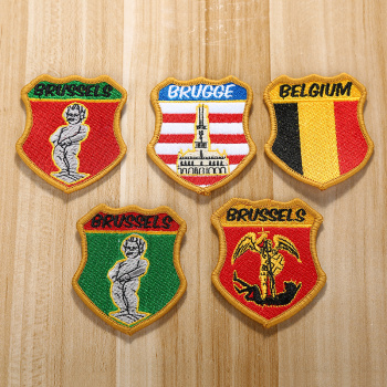 The English wind badge patch upholstery applique jeans applique